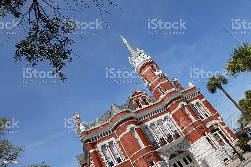 Brunswick City Hall royalty-free stock photo