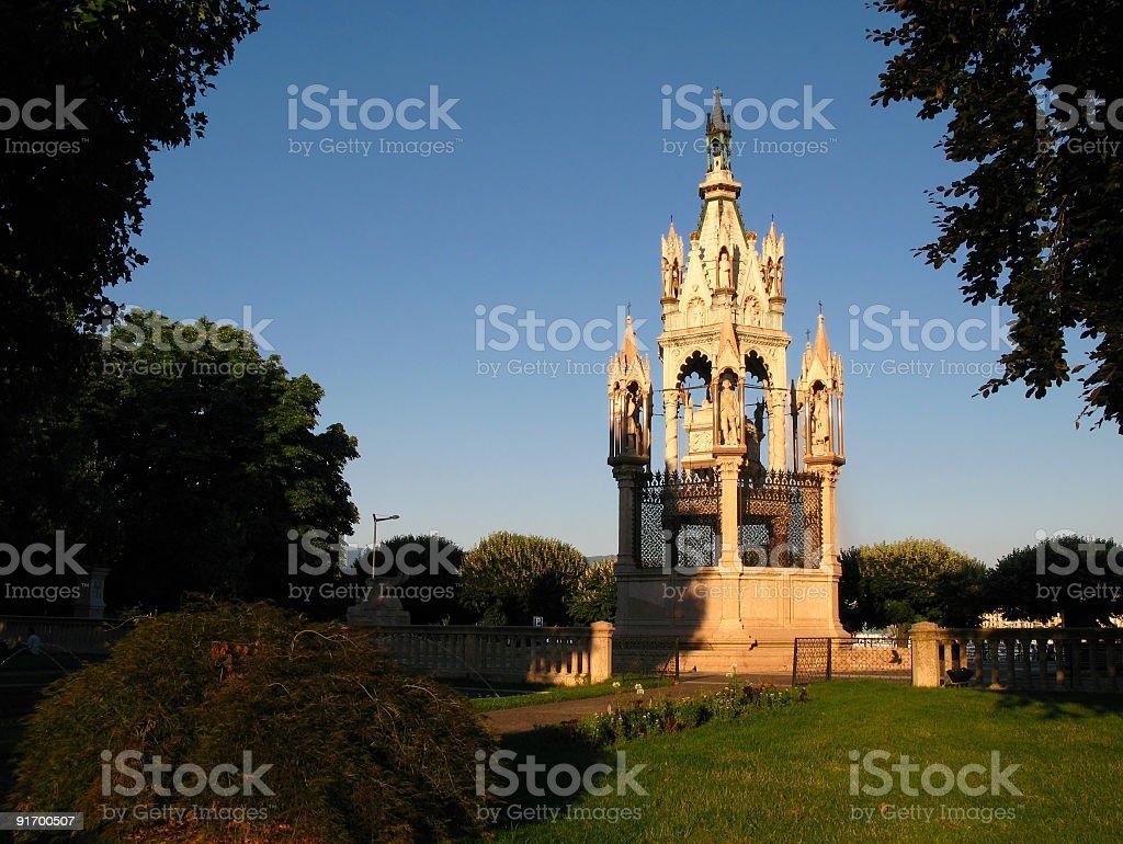 Brunswick Monument, Geneva, Switzerland stock photo