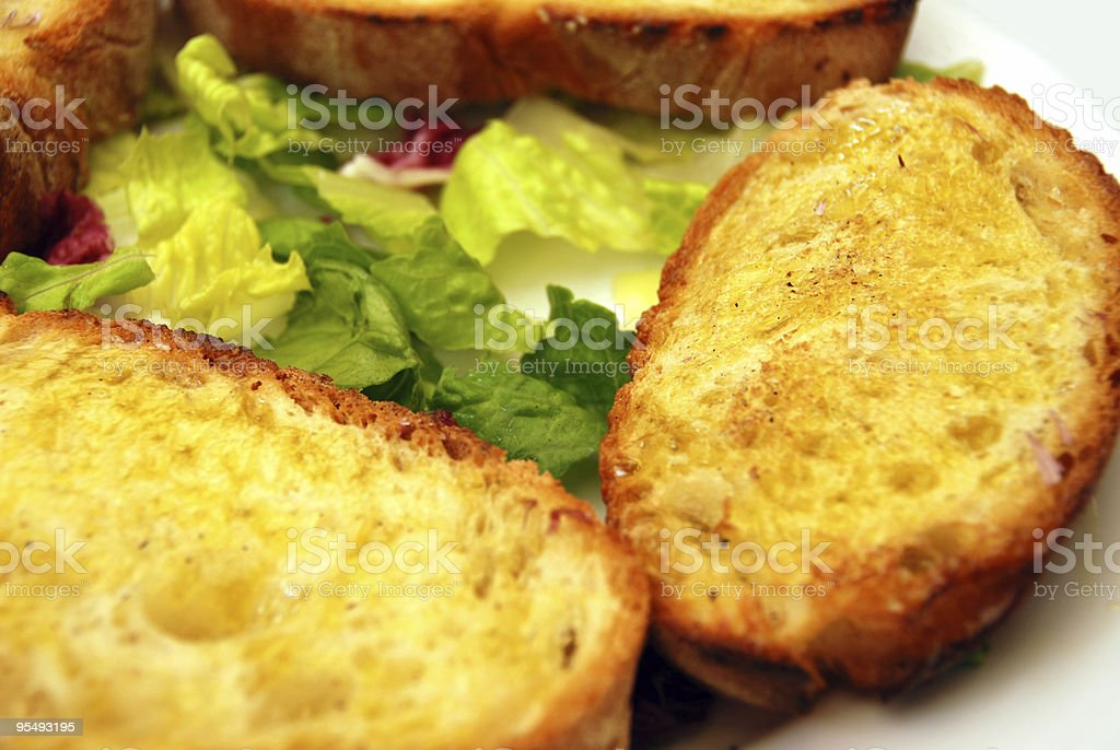 Bruschetta Crostini royalty-free stock photo