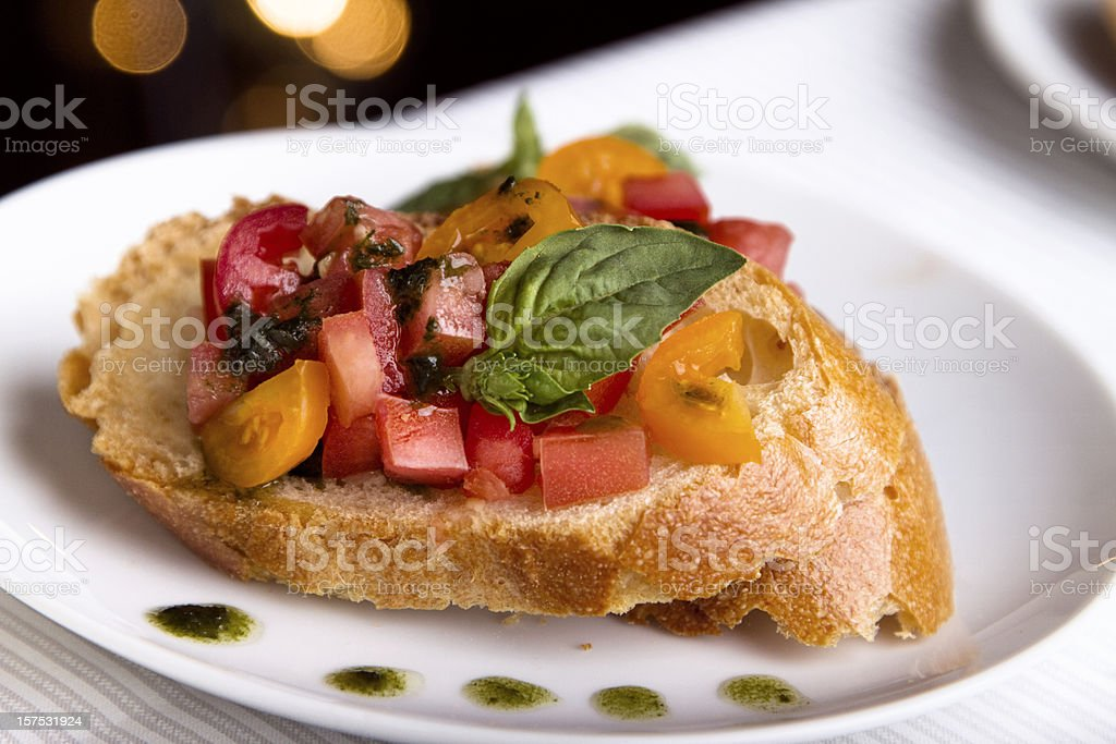 Bruschetta royalty-free stock photo
