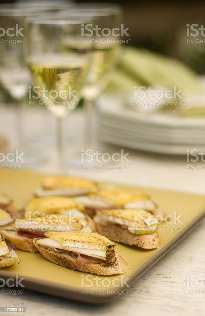 Bruschetta stock photo