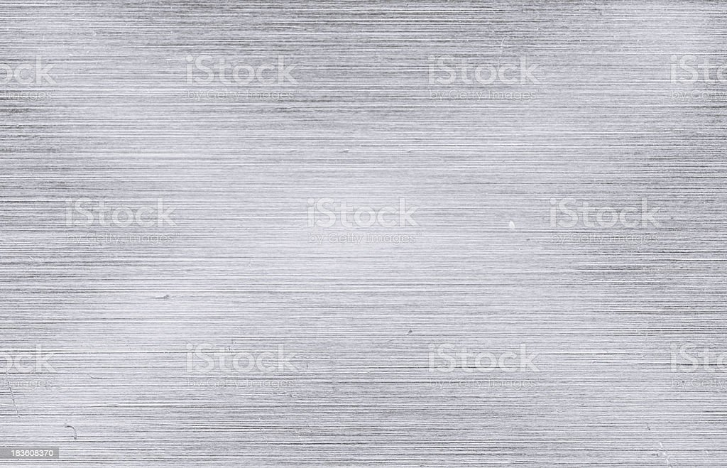 Brush aluminum texture extreme closeup royalty-free stock photo