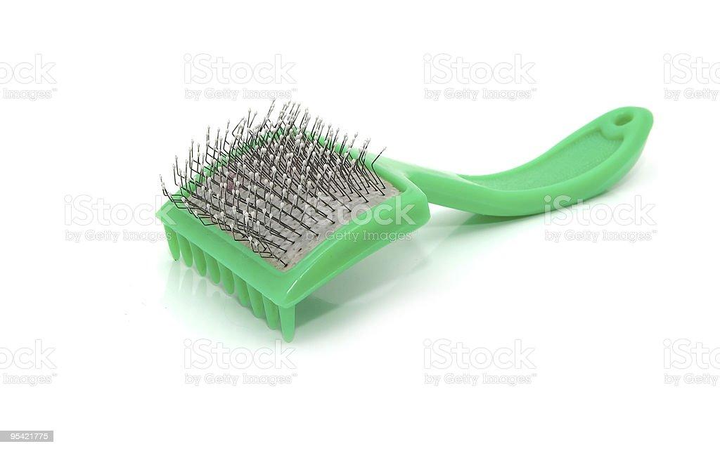 brush for animals royalty-free stock photo