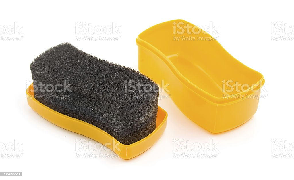 Brush for shoes royalty-free stock photo