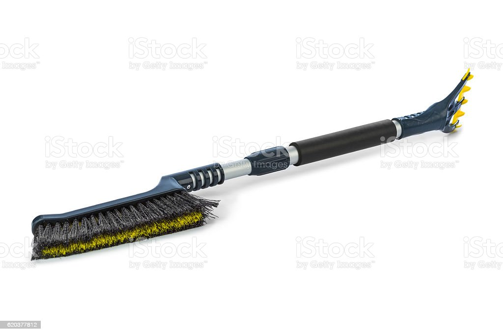 Brush for washing stock photo