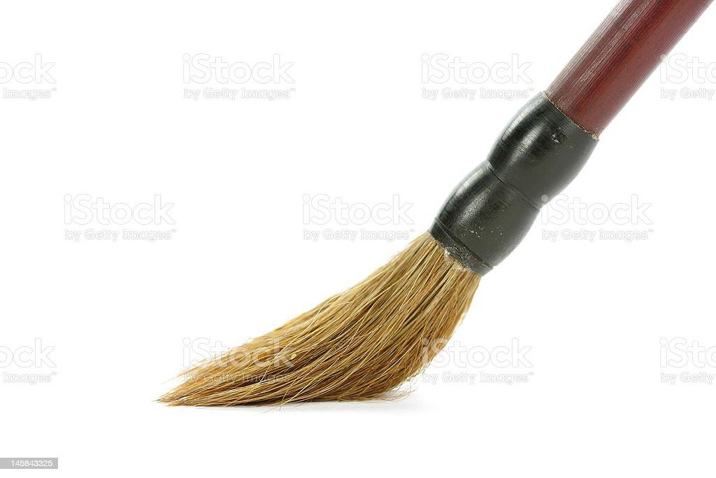 Brush isolated royalty-free stock photo