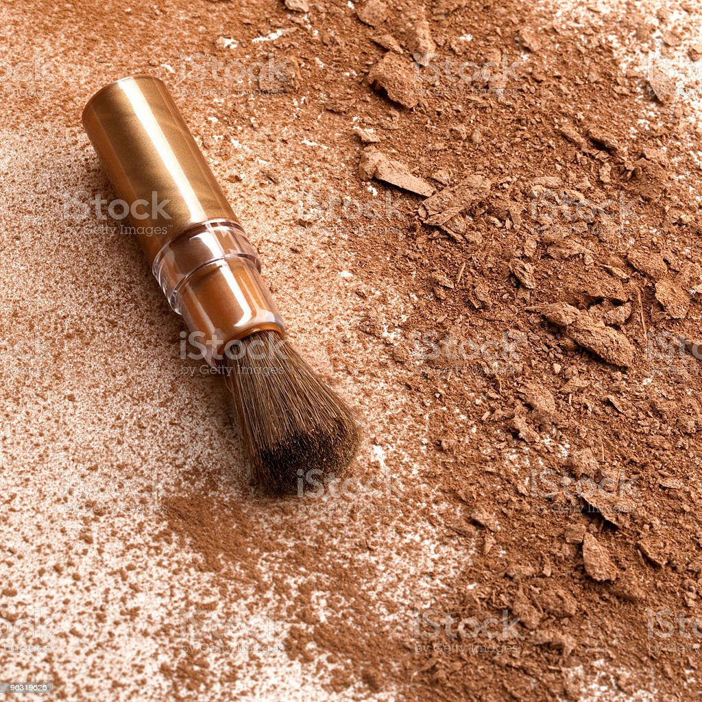 brush make-up royalty-free stock photo