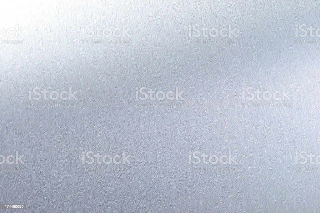 Brush Metal Texture stock photo