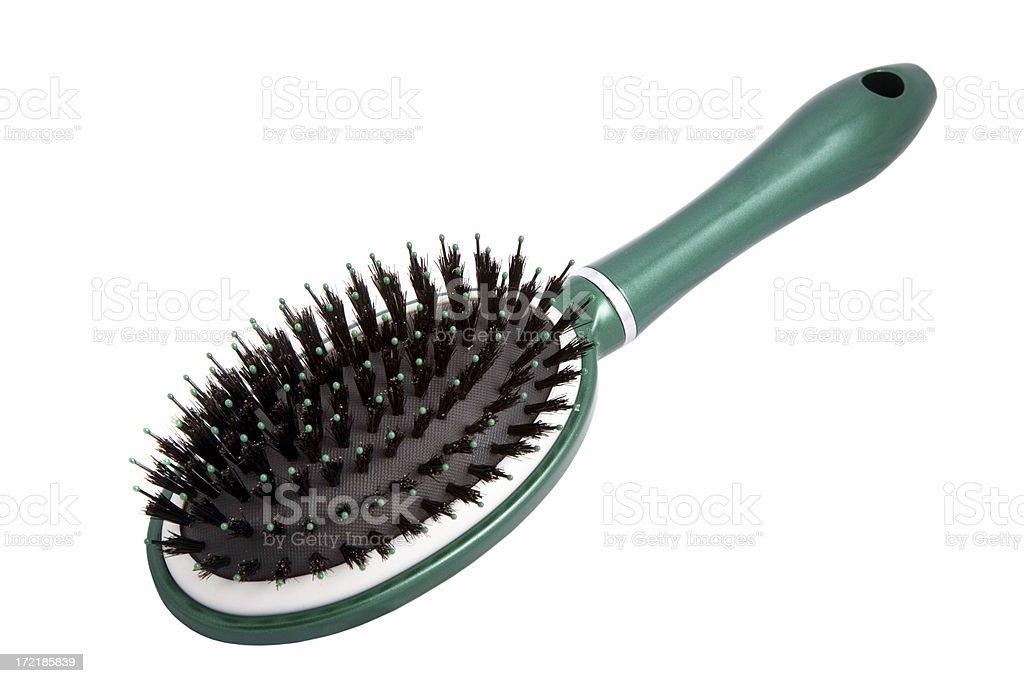 Brush on White stock photo