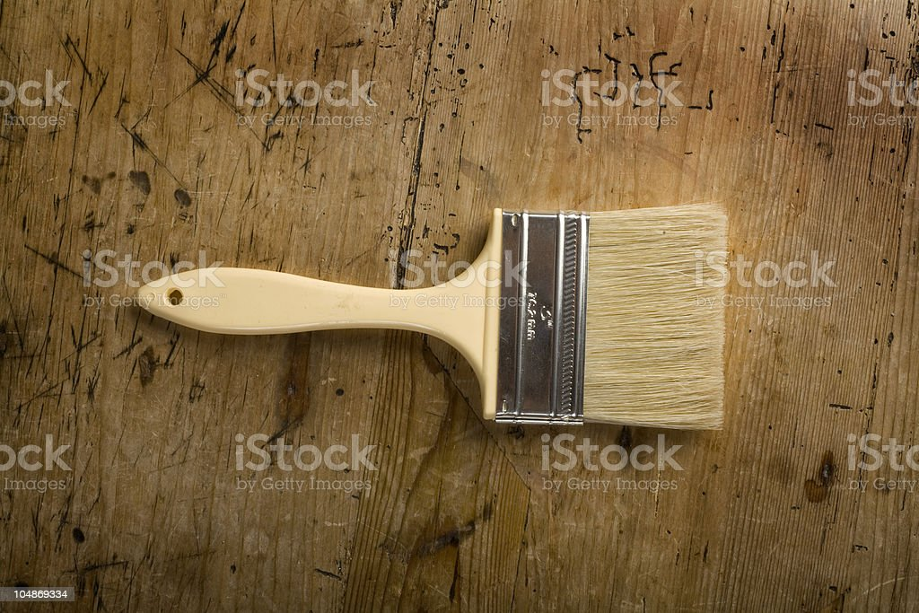 Brush royalty-free stock photo