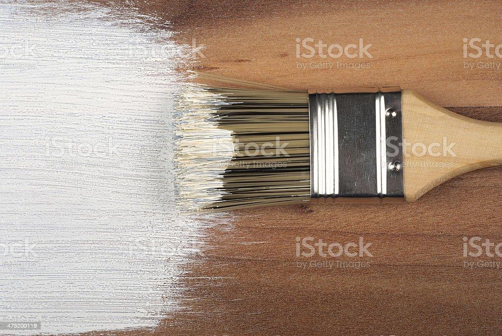 Cepillo foto de stock libre de derechos