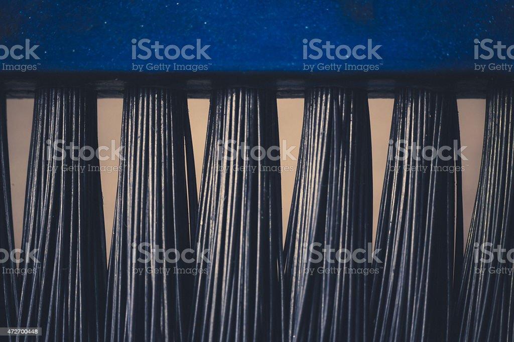 Brush Repetition stock photo