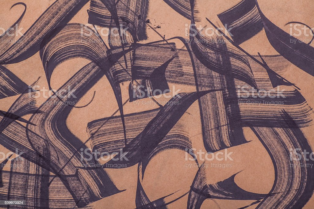 Brush strokes abstract stock photo