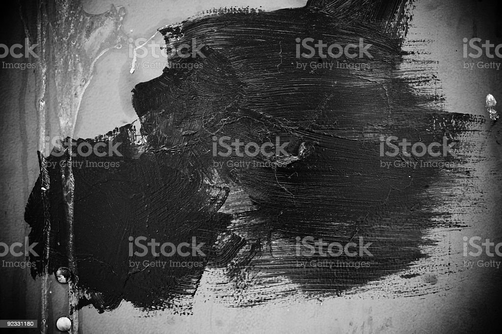 brush strokes and grunge royalty-free stock photo