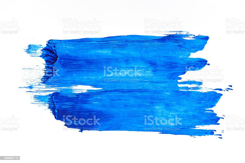Brush strokes stock photo