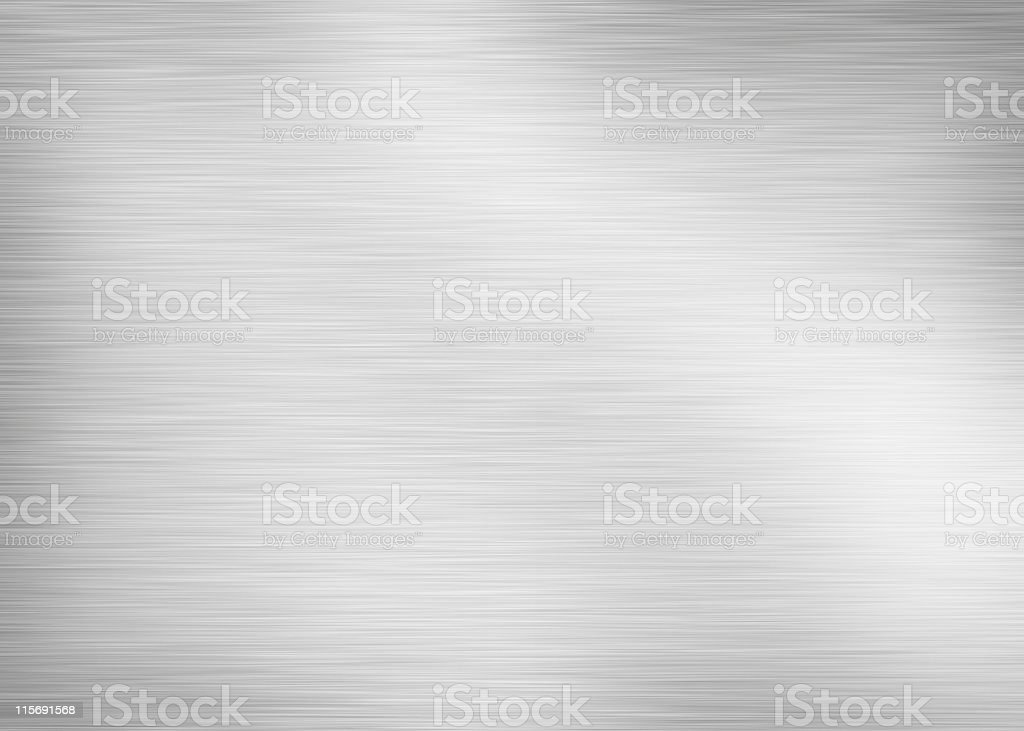 brushed aluminium stock photo