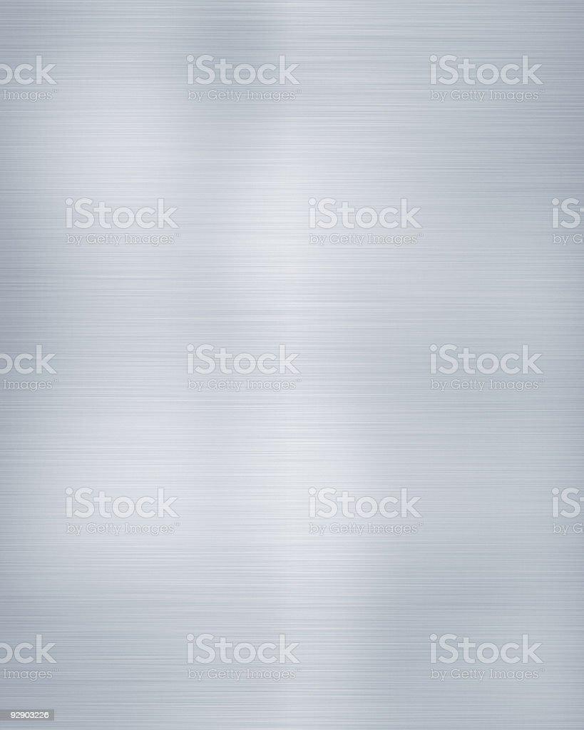 brushed aluminium royalty-free stock photo
