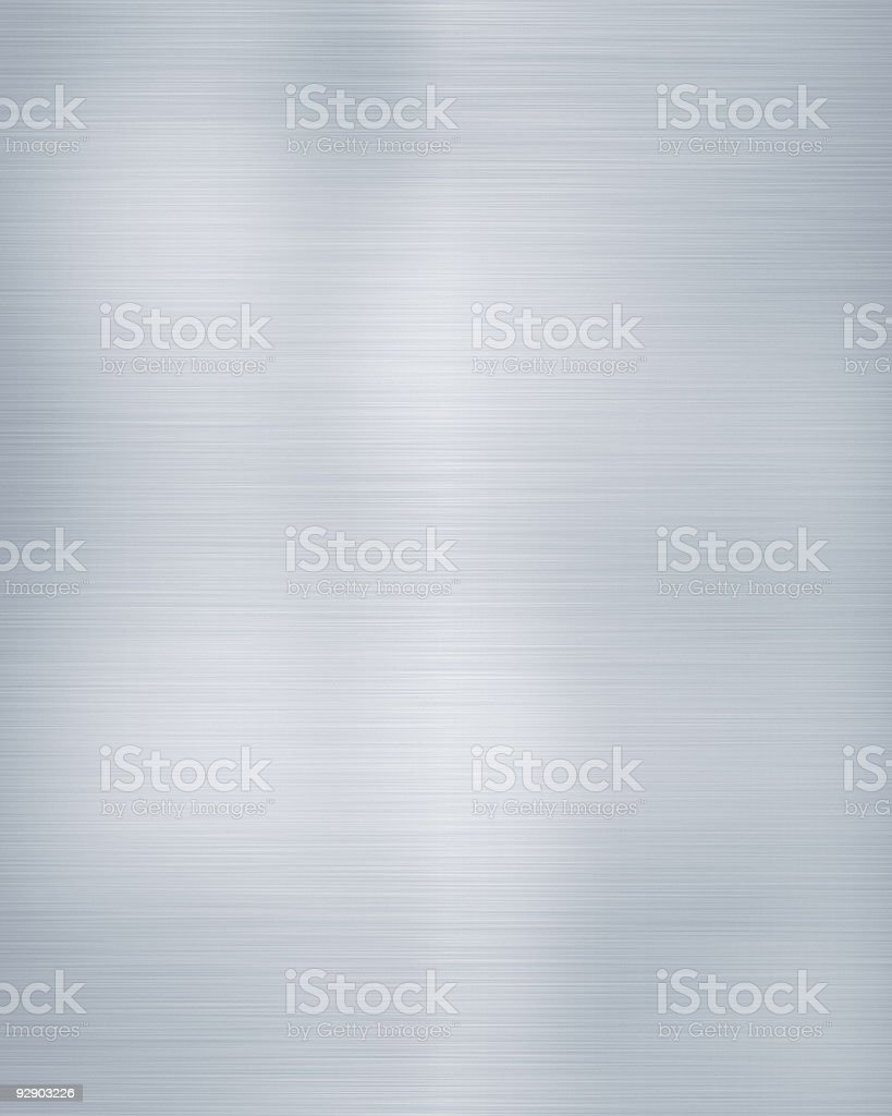 brushed aluminium stock photo