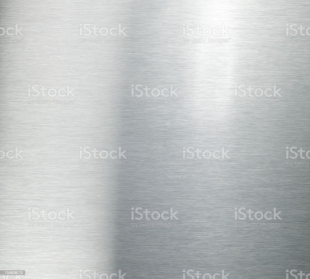 Brushed aluminium XL royalty-free stock photo