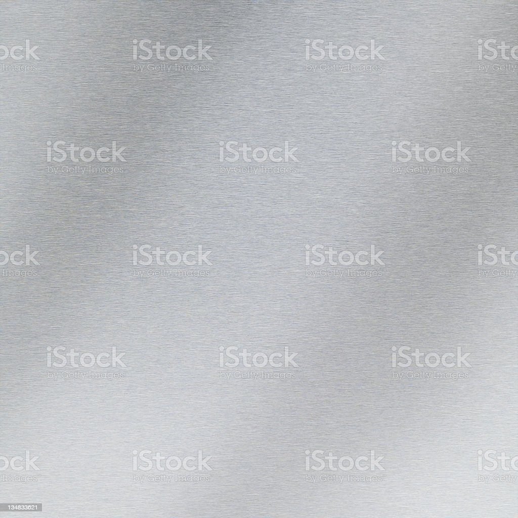 Brushed aluminium XXL stock photo