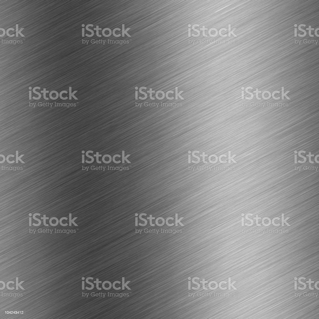 brushed aluminum royalty-free stock photo