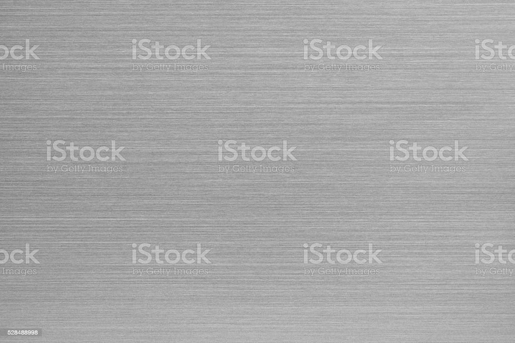 Brushed aluminum texture stock photo
