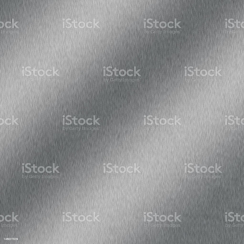 Brushed aluminum with highlight royalty-free stock photo