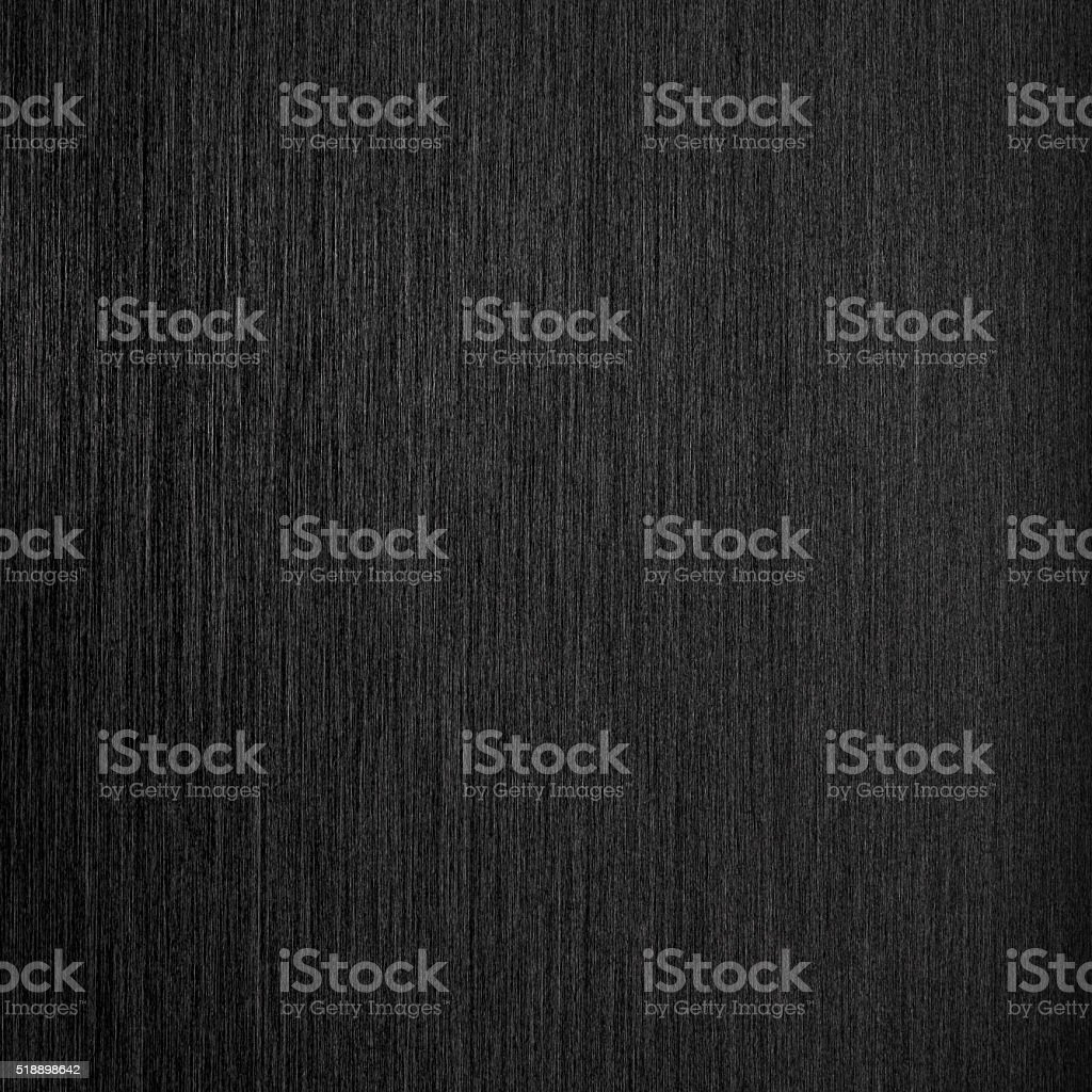 Brushed black metal background - square format stock photo