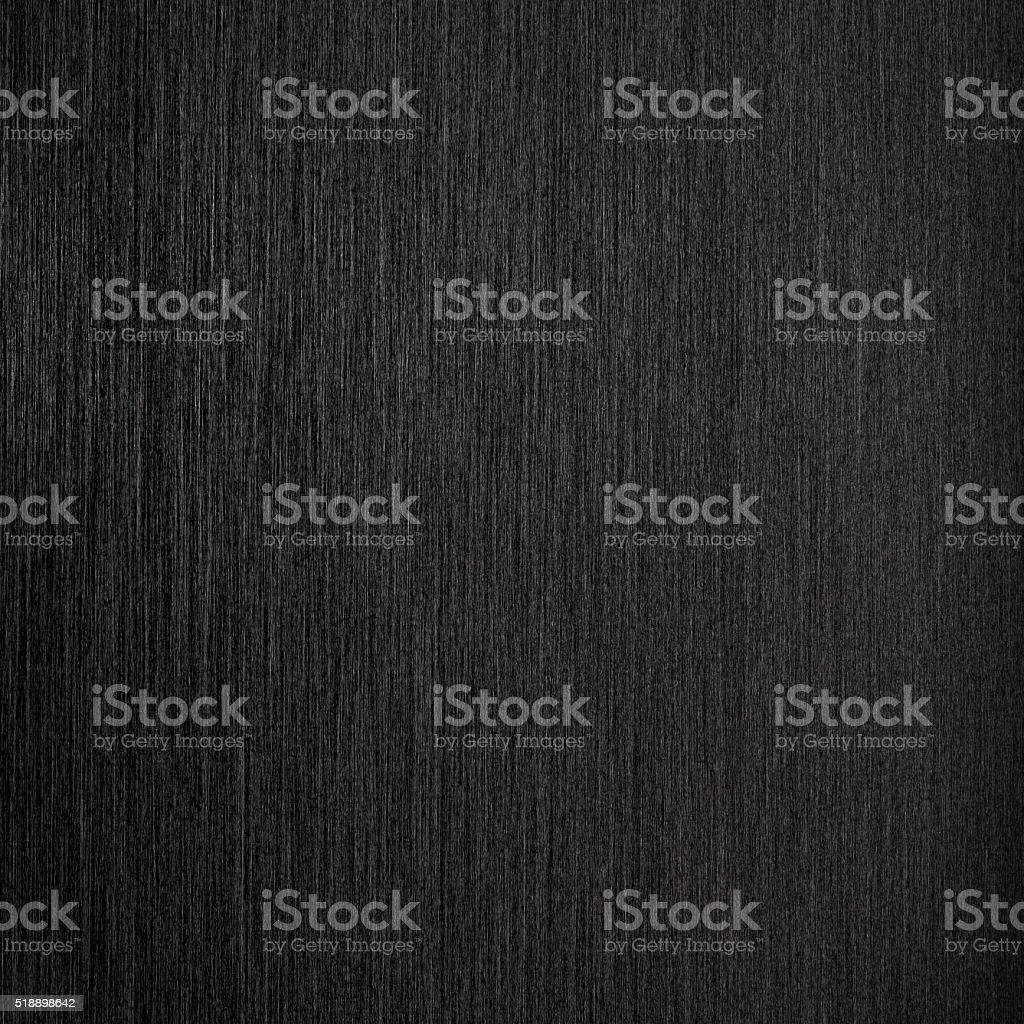 Brushed black metal background - square format stock photo