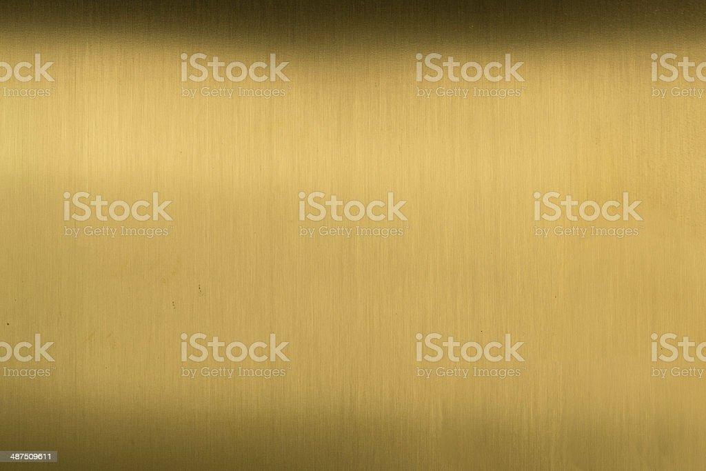 Brushed Brass royalty-free stock photo