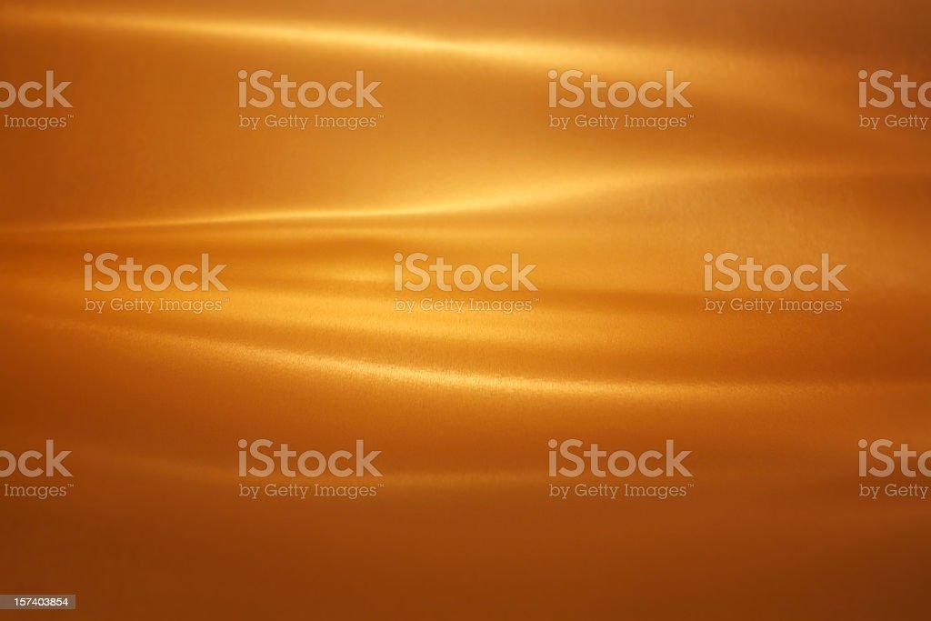 Brushed Gold royalty-free stock photo