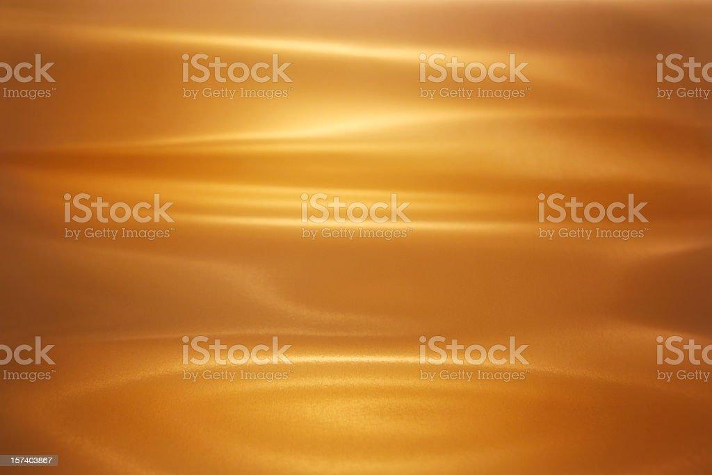 Brushed Gold stock photo