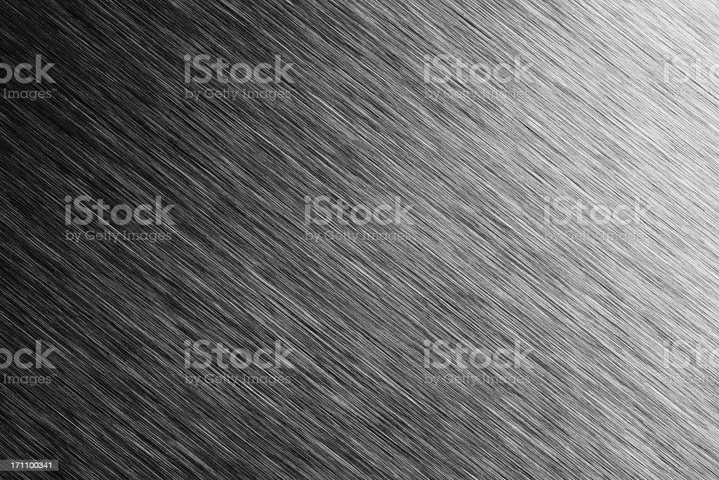 Brushed Metal Background royalty-free stock photo