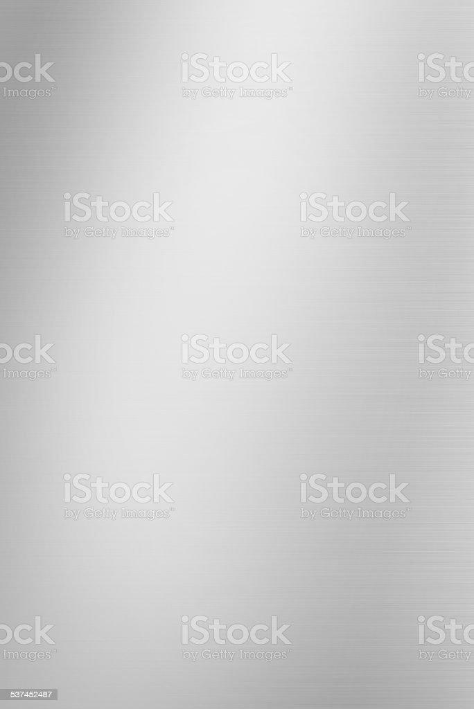Brushed metal background stock photo