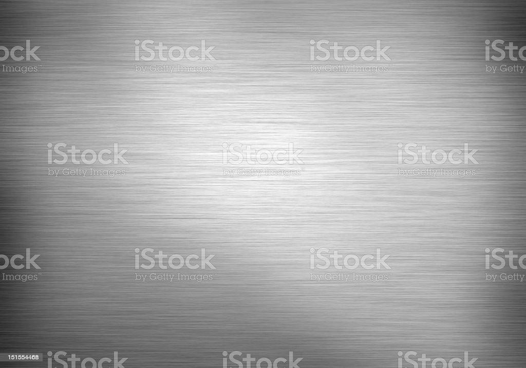 Brushed metal horizontal royalty-free stock photo