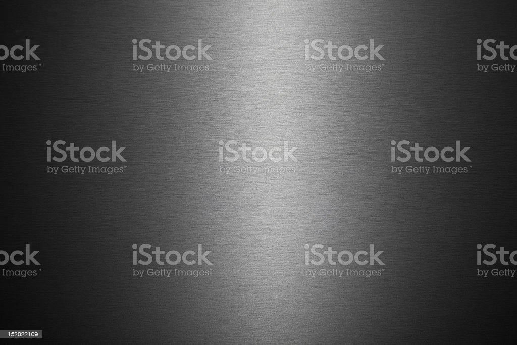 Brushed metal royalty-free stock photo