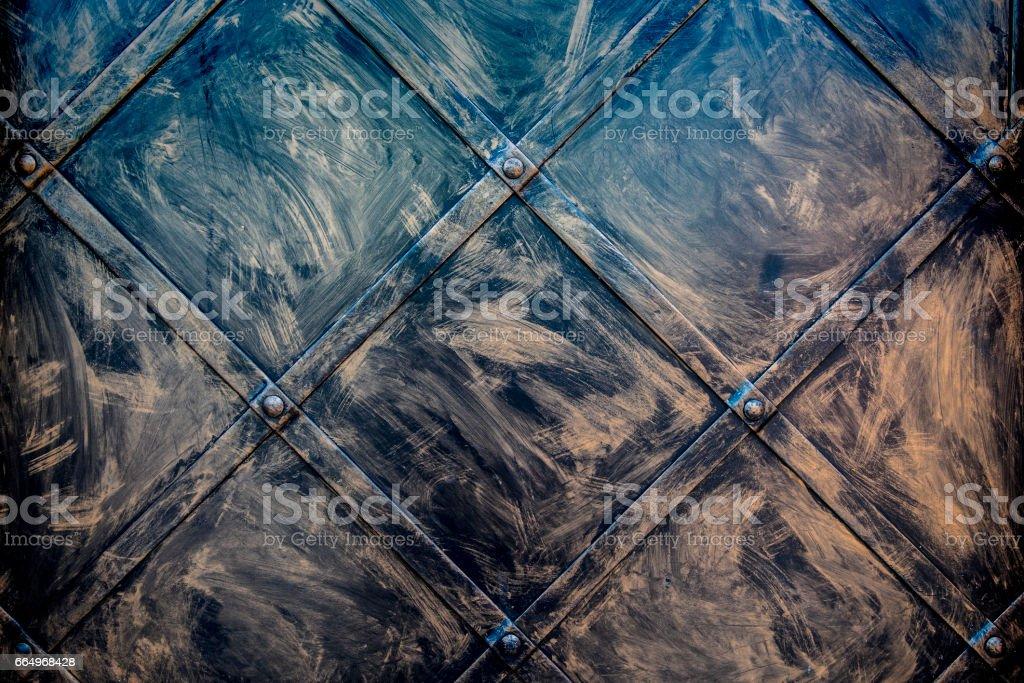 Brushed metal stock photo