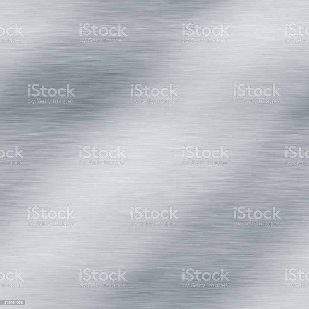 Brushed metal seamless generated hires texture stock photo