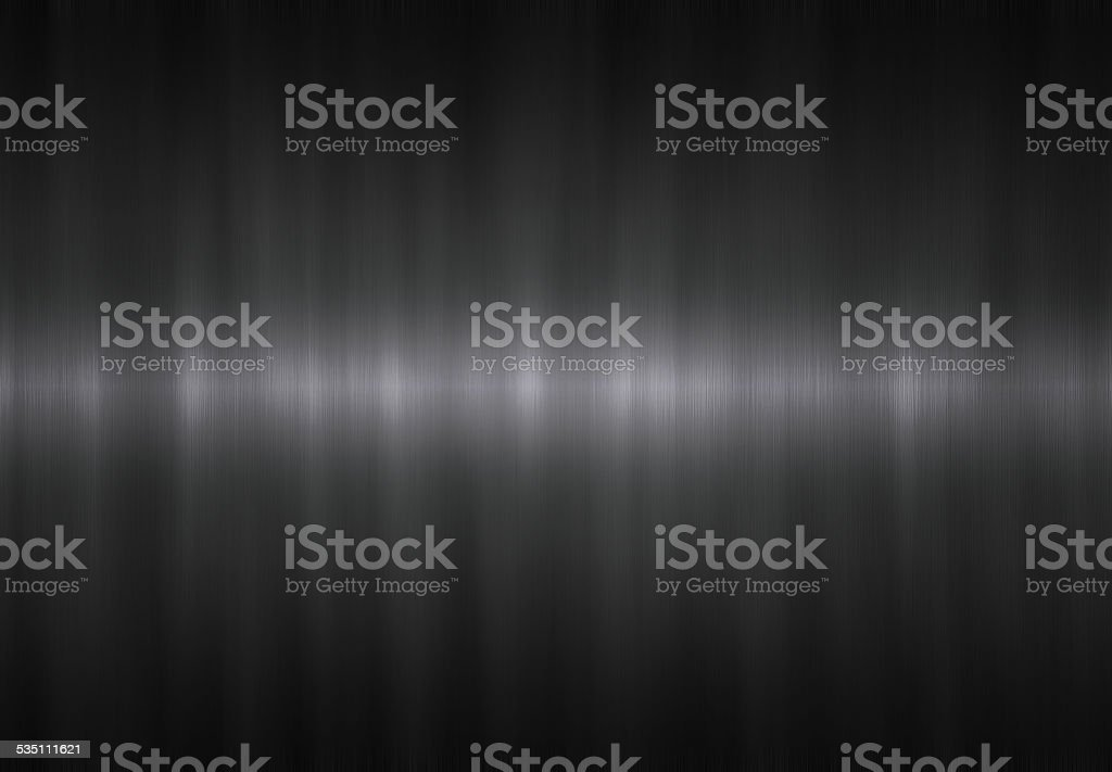 Brushed metal sheet. stock photo