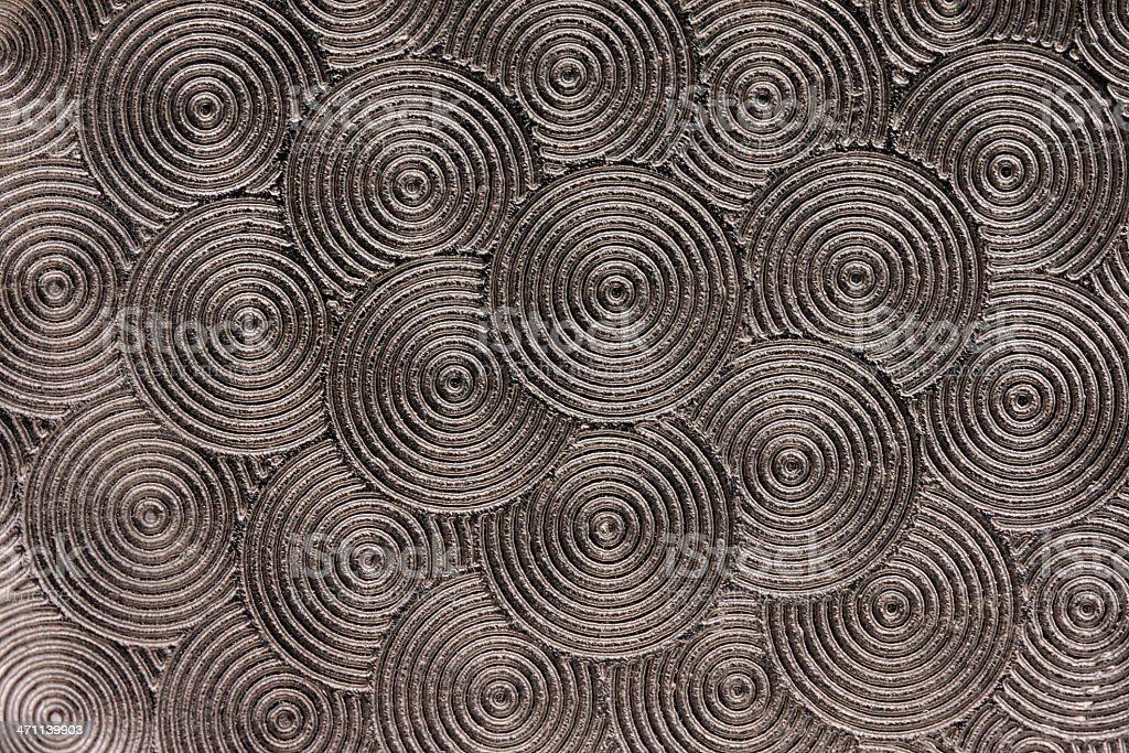 Brushed Metal Swirls Texture stock photo