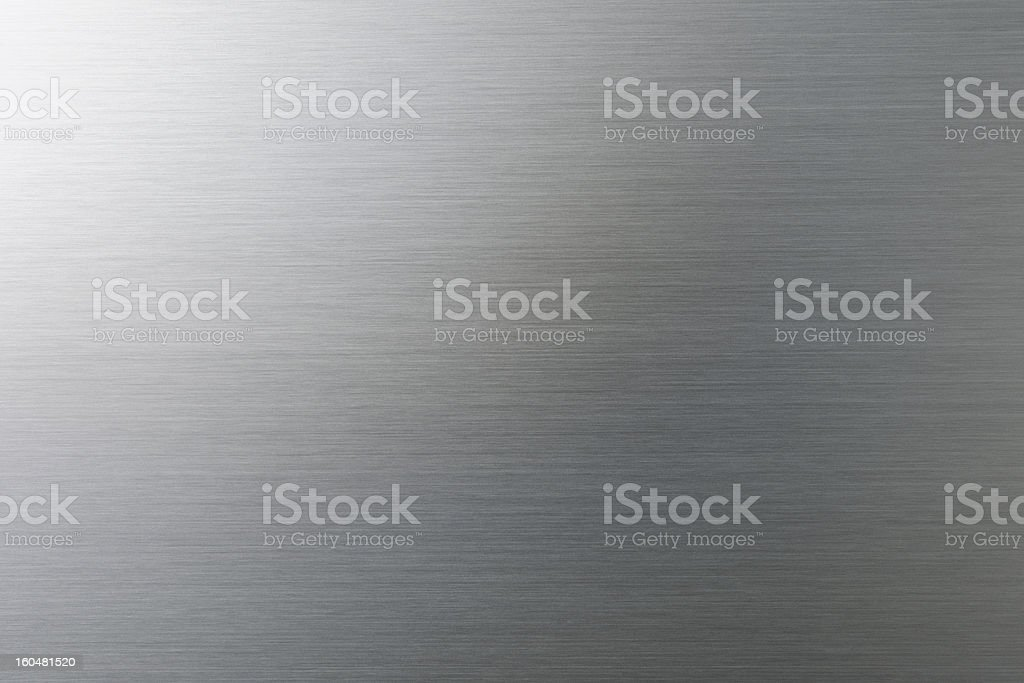 Brushed metal texture backgeound royalty-free stock photo