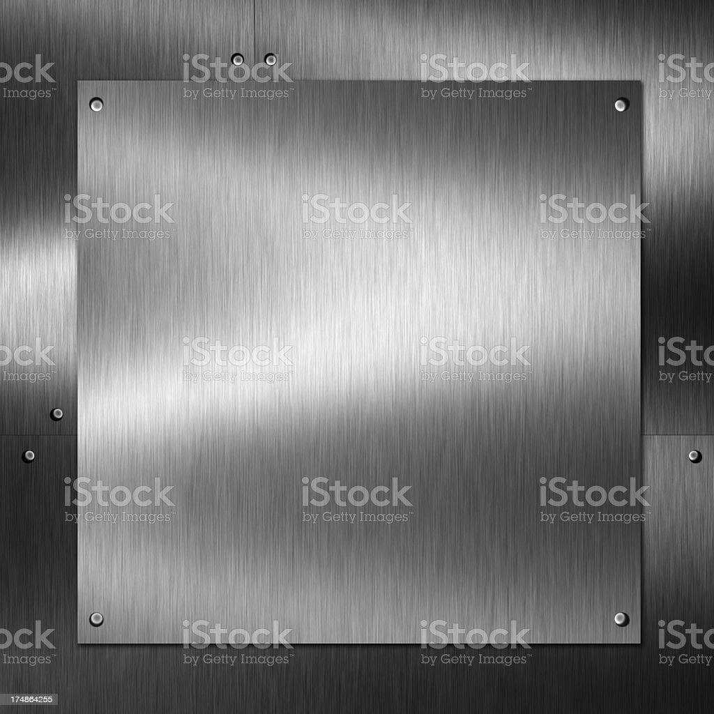 Brushed metal texture. royalty-free stock photo