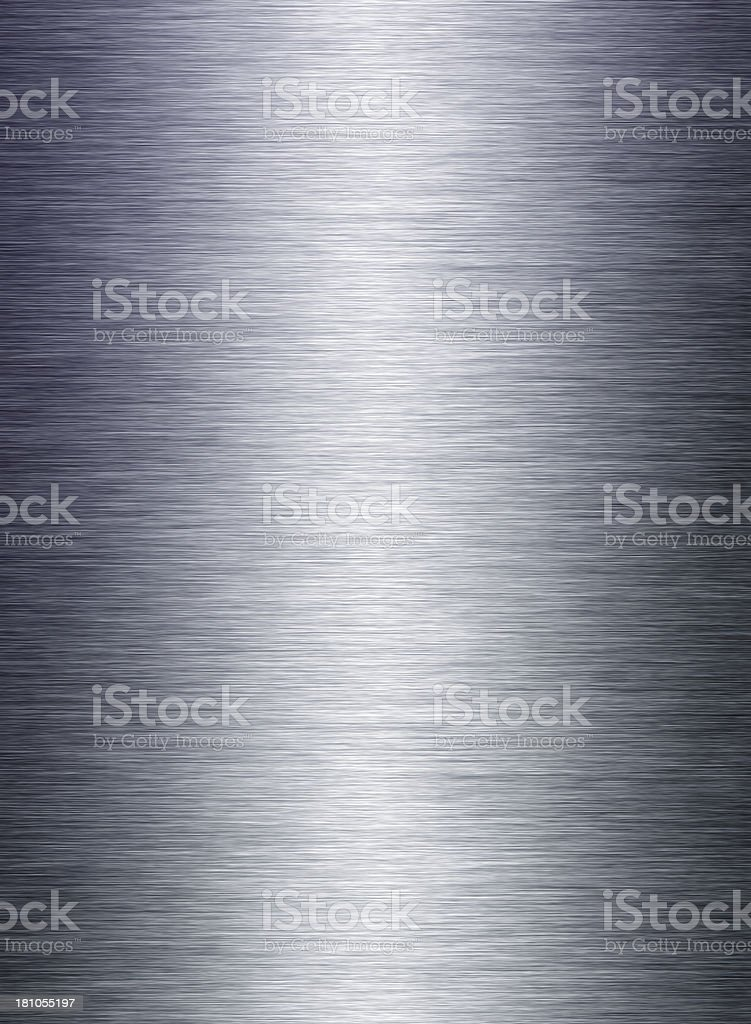 Brushed Metal Texture stock photo