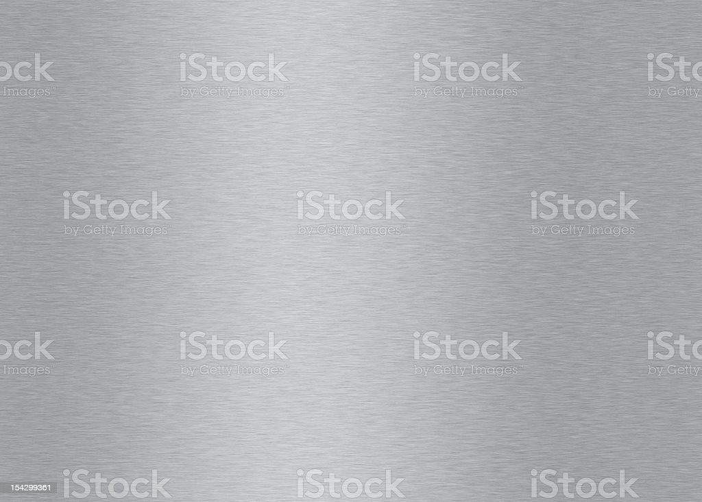 Brushed metal textured background stock photo