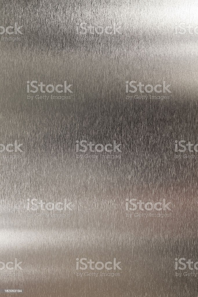 Brushed Stainless Steel Background royalty-free stock photo