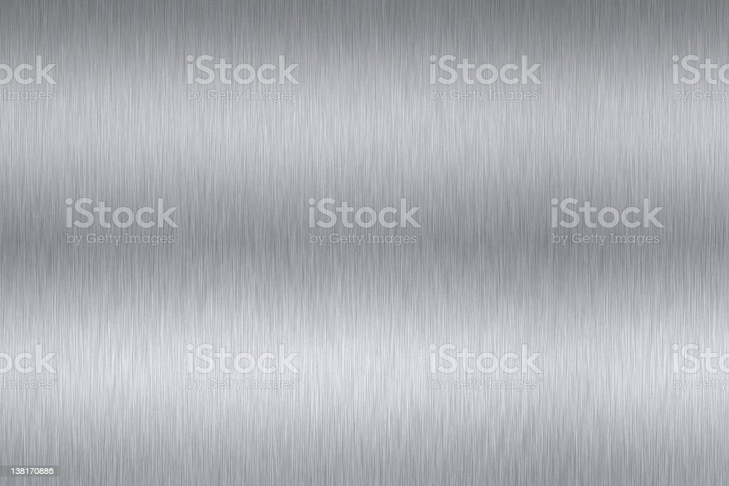 Brushed steel stock photo