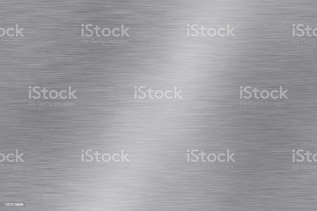 Brushed steel seamless background stock photo