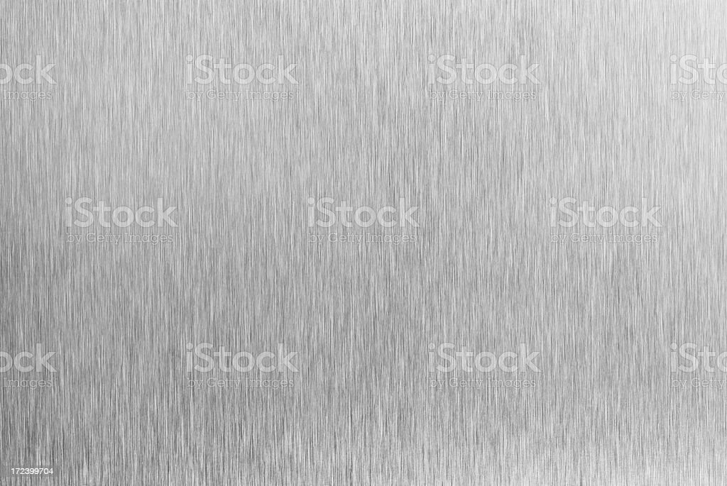 Brushed steel surface royalty-free stock photo