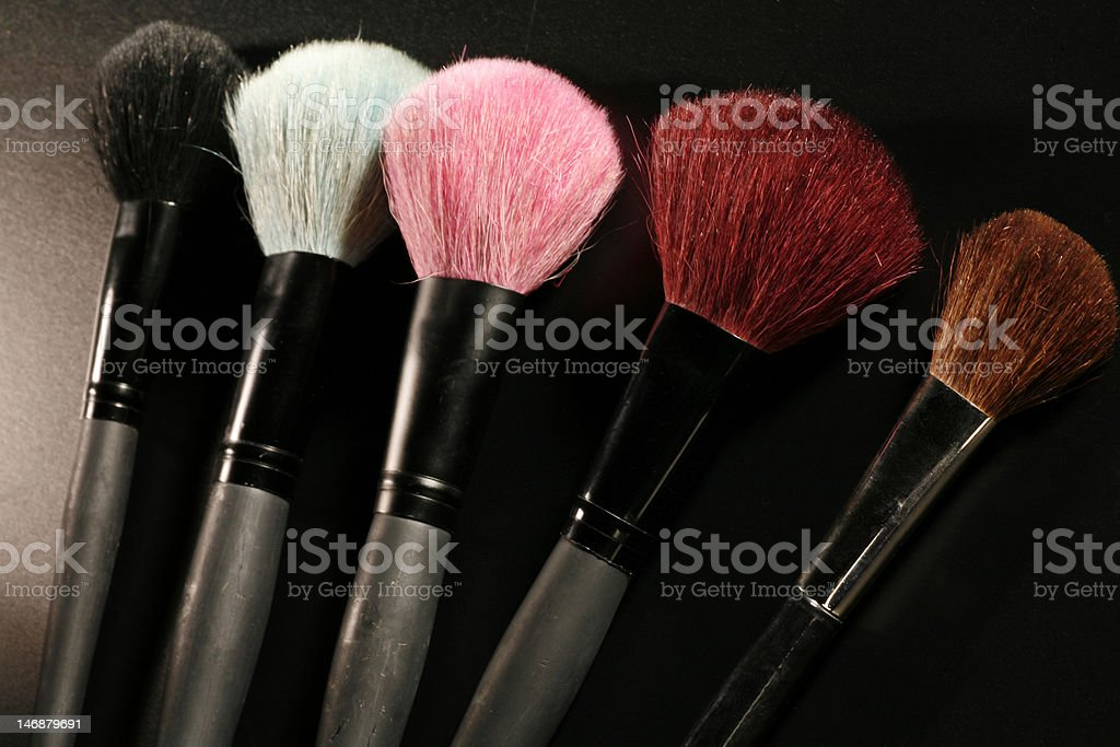 brushes royalty-free stock photo