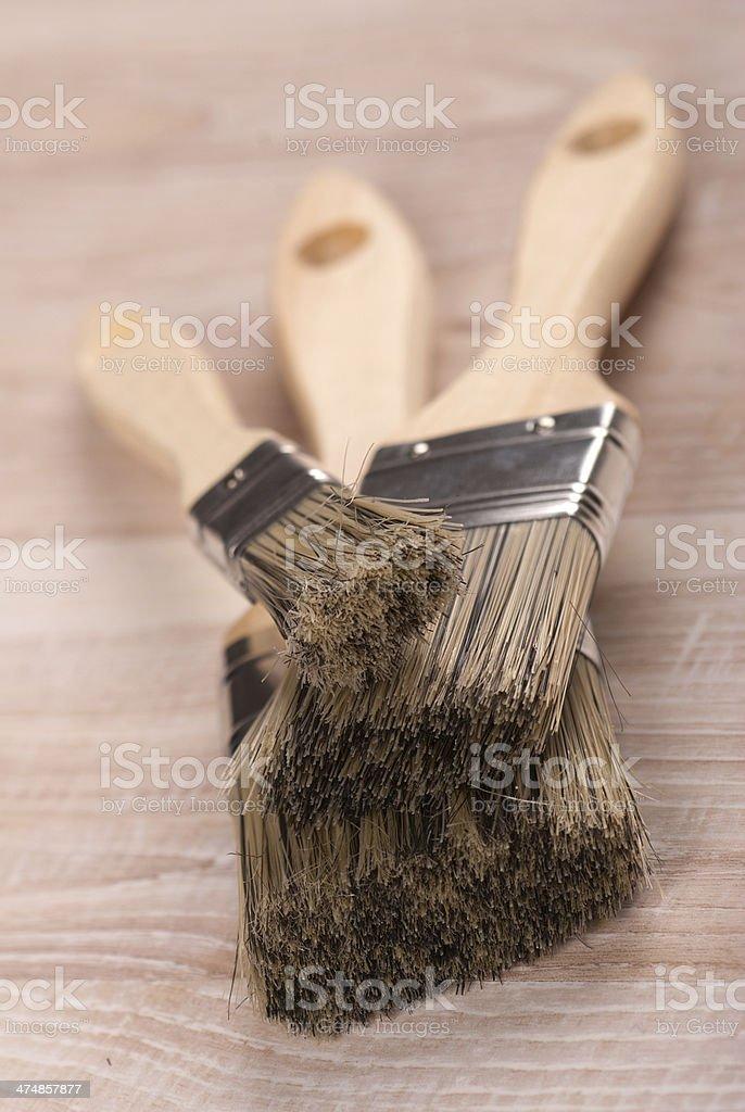 Cepillos foto de stock libre de derechos